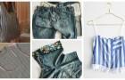 Vous avez de vieux vêtements que vous n'utilisez plus ? Vous pouvez les transformer en d'autres vêtements ou accessoires