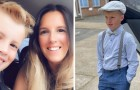 Moeder geeft £2000 uit aan de kleding van haar zoon: hij weigert naar school te gaan in merkloze kleding