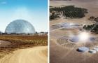 Deze zonnekoepels ontzilten zeewater met behulp van zonne-energie: het zero impact project
