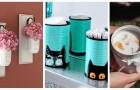 De bocaux à compléments d'ameublement: découvrez comment recycler avec fantaisie les emballages en verre ou en fer