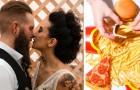 Noiva quer pizza e sanduíches do McDonald's no cardápio: um casamento nada tradicional e barato