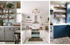 Votre cuisine a besoin de plus de rangements ? Utilisez les étagères pour la meubler avec style