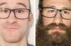 15 bilder som visar hur ett skägg kan förändra någons utseende radikalt
