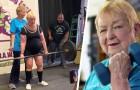 Questa bisnonna di 100 anni ha stabilito il record mondiale nel sollevamento pesi