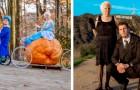 Abuela de 95 años viste trajes coloridos y divertidos junto a su nieto: una pareja divertida