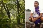 40 Jahre lang pflanzte er jeden Tag einen Baum: Heute hat er einen üppigen Wald von 550 Hektar geschaffen