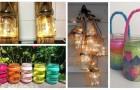 Ricicla con creatività i barattoli di vetro per ricavarne fantastiche lanterne