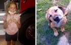 Una ragazza di 11 anni si accorge che la casa dei vicini va a fuoco e salva il cagnolino intrappolato tra le fiamme