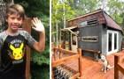 En 9-årig grabb designar och finansierar ett trädhus: ingenting saknas i den och han hyr ut den som Airbnb