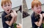 La abuela le compra un cachorro al nieto que estaba ahorrando para tener uno: una sorpresa emocionante