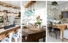 Lasciati ispirare da queste bellissime idee e arreda la sala da pranzo in perfetto stile farmhouse