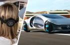 Mercedes stellt das erste Auto vor, das sich selbst mit den Gedanken des Fahrers steuert