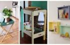 Ricicla i vecchi cassetti in modo creativo: puoi ricavarne mobili e accessori pieni di fascino