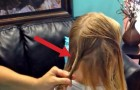 Wenn sie mit der Frisur beginnt, stellst du dir das Ergebnis nicht so toll vor