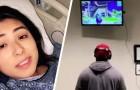 Zijn vriendin ligt in het ziekenhuis te bevallen: hij brengt zijn Xbox mee en speelt spelletjes om de tijd te doden