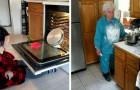 16 personas que se pusieron en la cocina y han provocado desastres culinarios de antología
