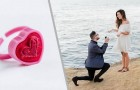 Er macht seiner Freundin einen Heiratsantrag mit einem Plastikring, sie rastet aus: