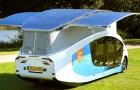 Une équipe d'étudiants présente le premier mobile home à énergie solaire : il a une autonomie de 730 km