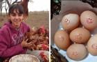 Den här unga tjejen började föda upp hönor när hon bara var 14 och idag har hon 800 stycken och säljer deras ägg
