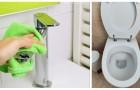 Ripulire a fondo il bagno: scopri come usare aceto e altri metodi per sbiancare sanitari e piastrelle