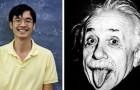 Il a un QI supérieur à celui d'Einstein :