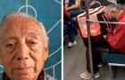A 85 anni è costretto a fare le consegne per vivere: fotografato mentre si addormenta per la stanchezza