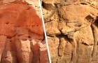 I ricercatori scoprono che questi enormi cammelli scolpiti nella roccia sono più antichi di Stonehenge