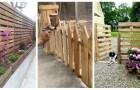 Clôture en bois de palette : découvrez comment en réaliser de façon simple et économique