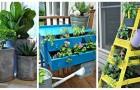 Jardinières DIY : les meilleures idées pour les réaliser vous-mêmes, même avec de vieux objets de récup