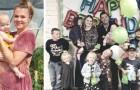 Een 38-jarige moeder vertelt over het leven met 12 kinderen: