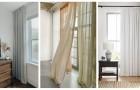 Découvrez comment accrocher vos rideaux de la meilleure façon pour que vos fenêtres aient l'air plus larges