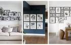 Trova l'idea più adatta ai tuoi gusti per esporre le foto in modo originale e decorativo