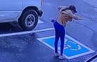 Une caméra de sécurité immortalise la danse de joie d'une femme sans-abri : elle a réussi son entretien d'embauche (VIDEO)
