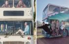 4 donne hanno trasformato un vecchio bus a due piani in un