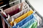 I panni non dovrebbero essere lasciati ad asciugare dentro casa: alcune delle ragioni più importanti