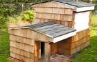 Auf den ersten Blick sieht es wie ein kleines Häuschen: Wer darin wohnen wird, ist wirklich ein Glückspilz!