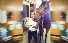 They celebrate this horse's birthday. His reaction? You will NOT believe it!