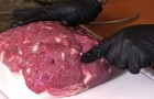 It seems just a normal piece of raw meat? Look how it was prepared...