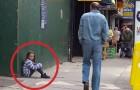 Une enfant se perd dans la rue: ce qu'essaie de faire l'homme à la fin est choquant