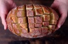 She cut a piece of bread into cubes and within minutes creates a mouth-watering snack !