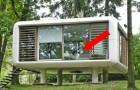 Questa abitazione può sembrare piccola dall'esterno, ma le sue caratteristiche vi stupiranno