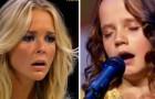 Una bambina timida sale sul palco: quando apre bocca i giudici sono scioccati!