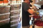 Een vader heeft een briljante manier gevonden om kleurpotloden te hergebruiken