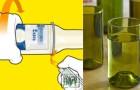 Creare bellissimi vasi o bicchieri usando le bottiglie di birra? Ecco come fare!