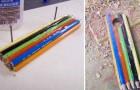 Compra una scatola di matite colorate e realizza un prodotto artigianale delizioso