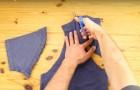 Trasforma facilmente la tua maglietta preferita in un oggetto utilissimo. Ecco come fare