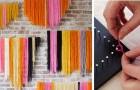 13 decorazioni sorprendenti che puoi creare con un semplice spago