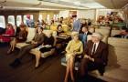 Come era viaggiare in aereo negli anni 70? Decisamente molto diverso da oggi...