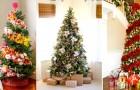 Molte persone hanno decorato l'albero di Natale con i fiori. Il risultato? Oltre le aspettative!