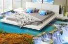Met deze 3D-vloeren tover je elke kamer in je huis om in een paradijs!